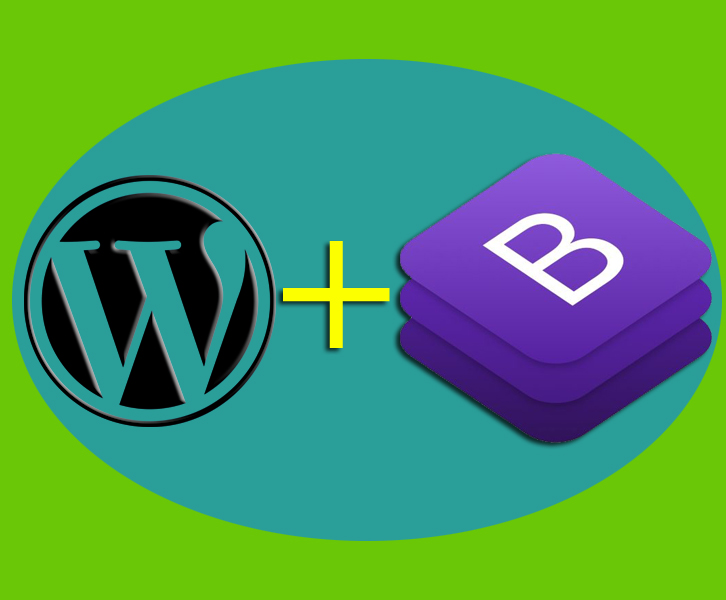 basic integrasi wordpress dengan bootstrap tanpa plugin
